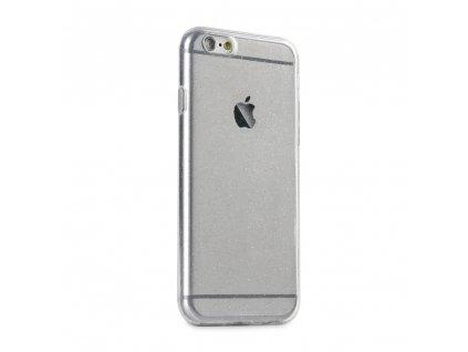 Pouzdro Back Case Ultra Slim 0,5 mm GLITTER Apple Iphone X / XS transparentní