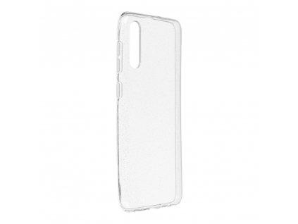 Pouzdro Back Case Ultra Slim 0,5 mm GLITTER Samsung Galaxy A50 transparentní