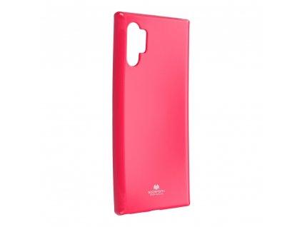 Pouzdro Goospery Mercury Jelly Samsung Galaxy NOTE 10 PRO růžové