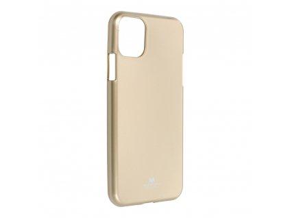 Pouzdro Goospery Mercury Jelly Apple Iphone 11 PRO MAX zlaté