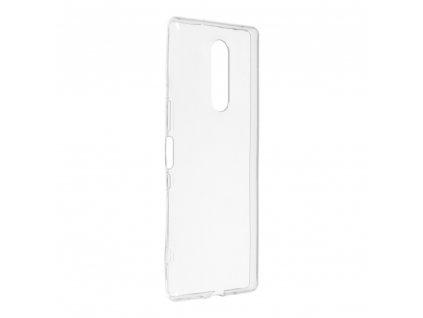 Forcell pouzdro Back Ultra Slim 0,5mm Sony Xperia XZ4 transparentní