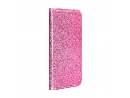Pouzdro Forcell SHINING Book Xiaomi Redmi 7 růžové