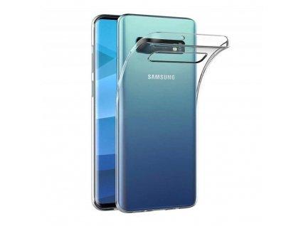 Forcell pouzdro Back Ultra Slim 0,5mm SAMSUNG Galaxy S10 5G transparentní