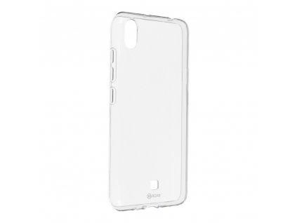 Pouzdro Roar Transparent Tpu Case LG K20 (2019) transparentní