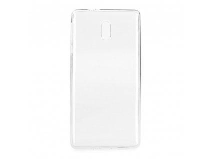 Pouzdro Back Case Ultra Slim 0,5 mm NOKIA 3.1 PLUS transparentní