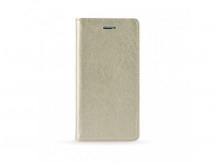 Pouzdro Magnet Flip Wallet Book Xiaomi Redmi 7A zlaté