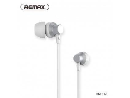 REMAX Sluchátka RM-512 stříbrné