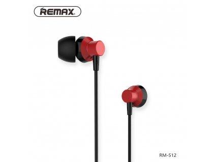 REMAX Sluchátka RM-512 červené