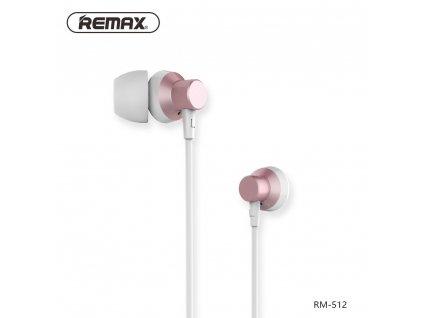 REMAX Sluchátka RM-512 růžové