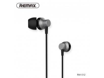 REMAX Sluchátka RM-512 černé