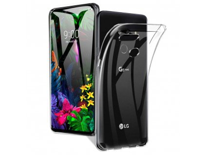 Pouzdro Back Case Ultra Slim 0,5 mm LG G8S / G8S ThinQ transparentní