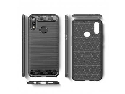 Pouzdro Forcell CARBON Samsung Galaxy A10s černé