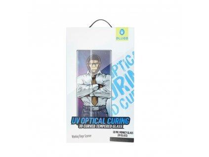 Tvrzené sklo 5D Mr. Monkey Glass Huawei Mate 30 Pro transparent (UV Glass)
