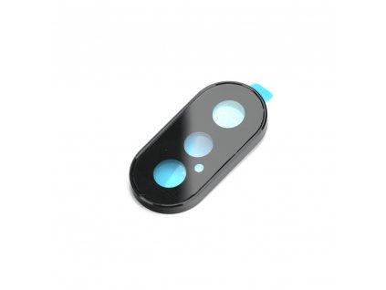 Krytka fotoaparátu s tvrzeným sklem Apple Iphone XS Max černá