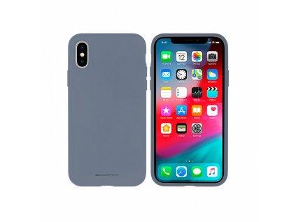 Pouzdro Mercury Silicone Apple Iphone 7 Plus / 8 Plus šedé