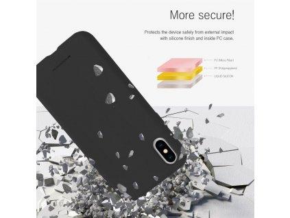 Pouzdro Mercury Silicone Samsung Galaxy A10 černé