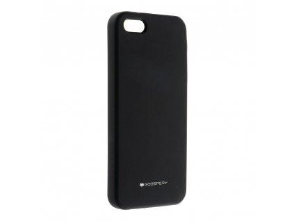 Pouzdro Mercury Silicone Apple Iphone 5 / 5S / SE černé