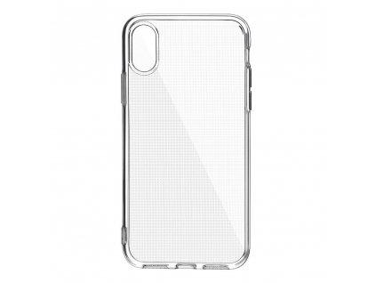 Pouzdro CLEAR CASE 2mm BOX APPLE IPHONE XS MAX transparentní