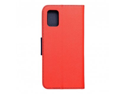 Pouzdro Fancy Book SAMSUNG Galaxy A51 červené/navy blue
