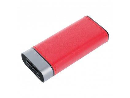 Externí baterie (POWER BANK) PURIDEA S20 10 000 mAh červená (3 vstupy)