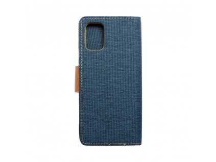 Pouzdro Canvas Mercury Book Samsung Galaxy A71 navy blue