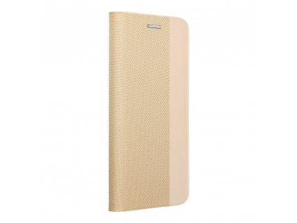 Pouzdro Forcell Sensitive Book Samsung Galaxy A50 zlaté