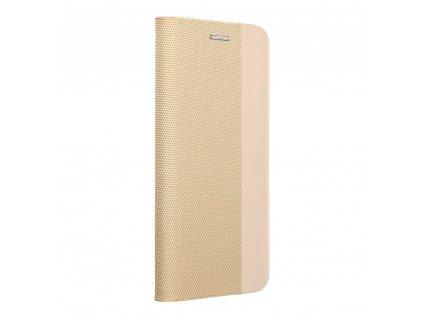 Pouzdro Forcell Sensitive Book Apple Iphone 11 PRO zlaté
