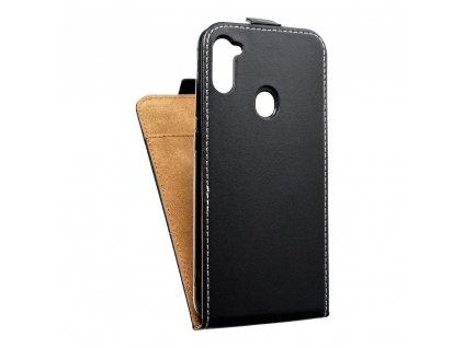 Forcell pouzdro Slim Flip Flexi FRESH pro SAMSUNG Galaxy A11 černé