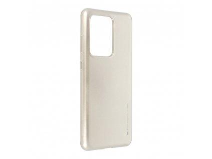 Pouzdro i-Jelly MERCURY/GOOSPERY Samsung Galaxy S20 ULTRA zlaté