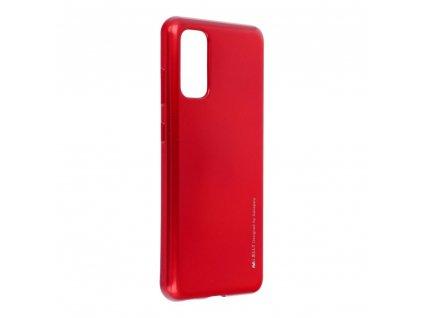 Pouzdro i-Jelly MERCURY/GOOSPERY Samsung Galaxy S20 červené