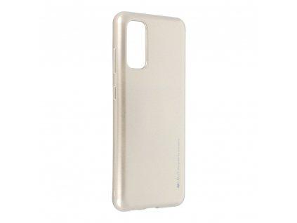 Pouzdro i-Jelly MERCURY/GOOSPERY Samsung Galaxy S20 zlaté