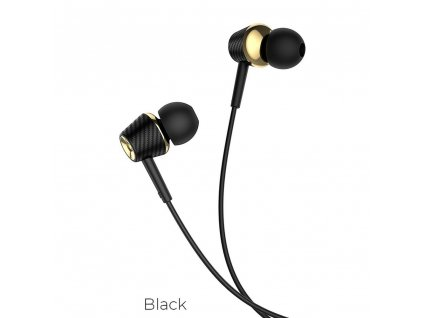 Univerzální sluchátka do uší - HOCO Graceful M70 - černé