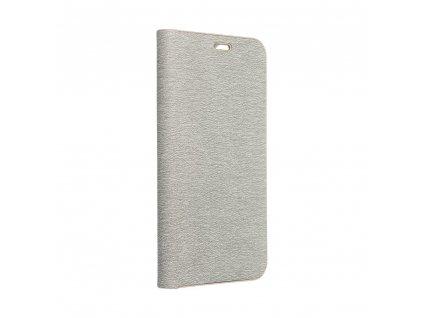 Pouzdro Forcell Luna Book SAMSUNG Galaxy A41 stříbrné