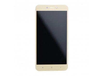 LCD displej + dotyková plocha pro XIAOMI REDMI 4X zlatá