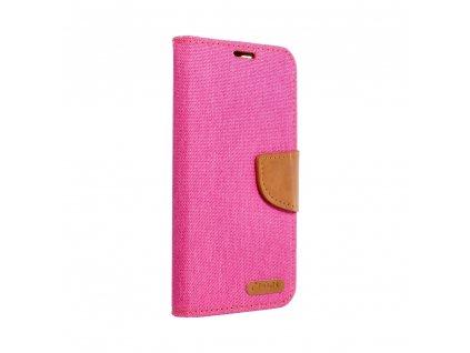 Pouzdro Canvas Mercury Book Samsung A41 růžové