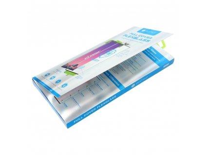 Tvrzené sklo Flexible Nano Glass 5D Full Glue - Samsung Galaxy Note 20 Ultra černé (Hot Bending)