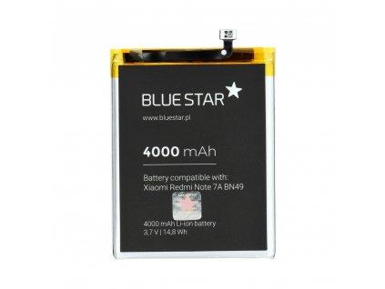 Baterie pro Xiaomi Redmi Note 7A (BN49) 4000 mAh Li-Ion Blue Star
