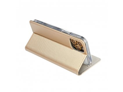 Pouzdro Smart Case Book LG K51s zlaté