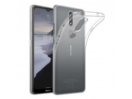Forcell pouzdro Back Case Ultra Slim 0,5mm NOKIA 2.3 transparentní