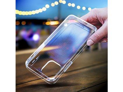 Pouzdro CLEAR CASE 2mm BOX APPLE IPHONE 12 transparentní