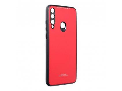 Pouzdro Forcell Glass HUAWEI Y6P červené