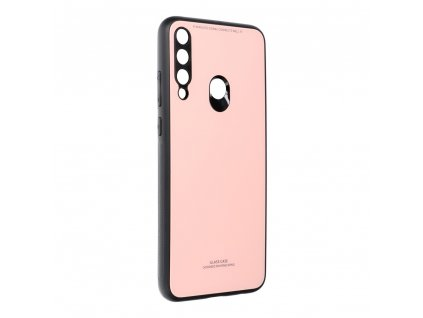 Pouzdro Forcell Glass HUAWEI Y6P růžové