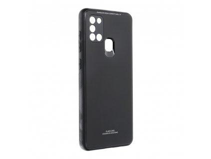 Pouzdro Forcell Glass SAMSUNG Galaxy A21s černé