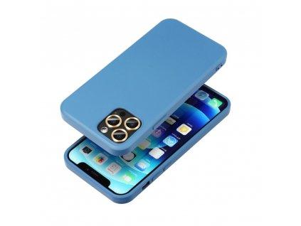 Pouzdro Forcell SILICONE LITE SAMSUNG Galaxy A31 modré