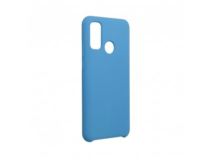 Pouzdro Forcell Soft-Touch SILICONE HUAWEI P Smart 2020 modré