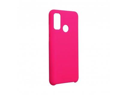 Pouzdro Forcell Soft-Touch SILICONE HUAWEI P Smart 2020 prášková růžová