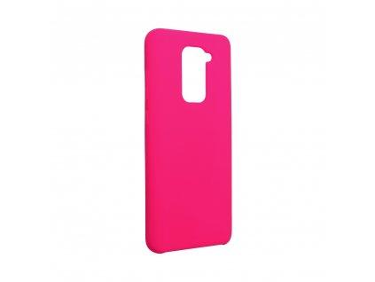 Pouzdro Forcell Soft-Touch SILICONE Xiaomi Redmi NOTE 9 růžová