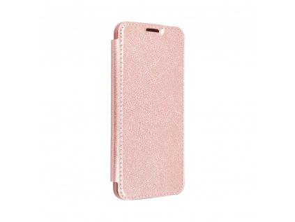 Pouzdro Forcell ELECTRO BOOK APPLE IPHONE 12 PRO MAX zlato růžové