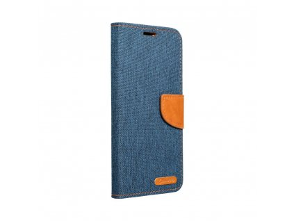 Pouzdro Canvas Mercury Book Samsung Galaxy A21s navy blue