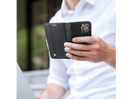 Pouzdro Forcell Prestige Book APPLE IPHONE 12 PRO / 12 MAX černé